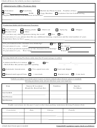 Employment Application & Personnel Record Form - EEO Employer, Page 2