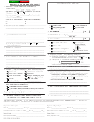 "Form ADOR82162 ""Affidavit of Property Value"" - Arizona"