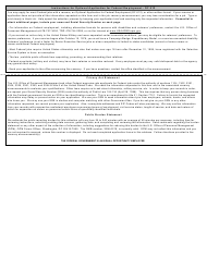 """Optional Form 612 """"Optional Application for Federal Employment"""""""