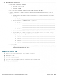 Benefits Visit Checklist - Casualty Assistance Calls Officer, Page 2