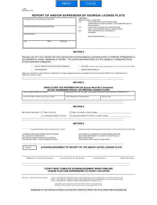 Georgia Legal Forms Pdf Templates Download Fill And Print For Free - Free legal forms to print