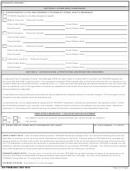 DD Form 2947 TRICARE Young Adult Application, Page 3