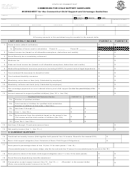 "Form CCSG-1 ""Worksheet for the Connecticut Child Support and Arrearage Guidelines"" - Connecticut"