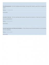 """""""Interview Rating Forms"""", Page 9"""