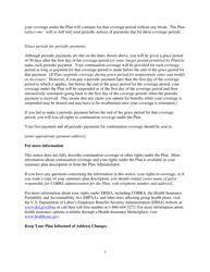 """Model Cobra Continuation Coverage Election Notice Form"", Page 7"