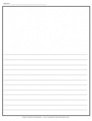 Blank Pleading Paper Template 29 Lines Download Printable Pdf