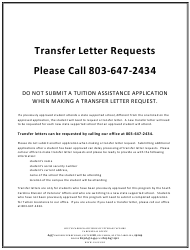 Application for Tuition Assistance for Certain War Veterans' Children - South Carolina, Page 3