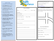 Vehicle Accident Form - Shift Insurance
