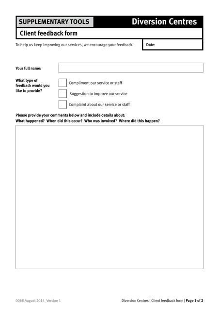 Form 0068 Printable Pdf