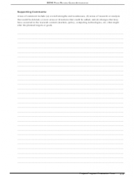 """""""Peer Reviewer Project/Program Evaluation Form"""", Page 4"""