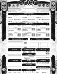 """Scion: Hero Character Sheet"""